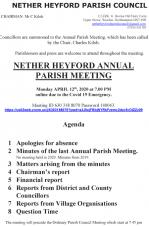 Notice of Annual Parish Meeting